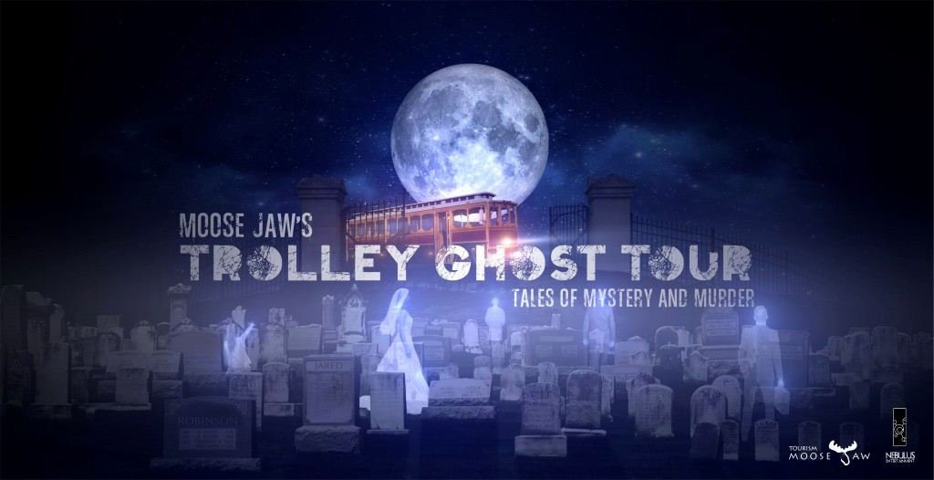 Ghost Tour Final Poster with fonts and logos